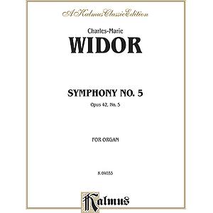 Widor Symphony No.5 (Organ)