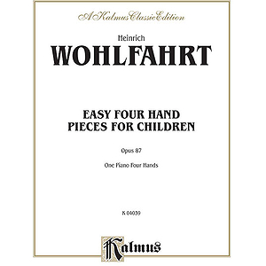 Easy Four Hand Pieces For Children Op. 87 (Collection)