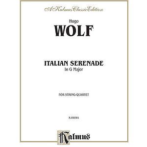 Wolf Italian Serenade/Stgs