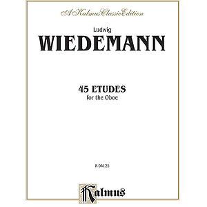 45 Etudes For Oboe