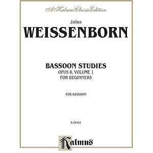 Weissenborn Bassoon Stud.op.8 B