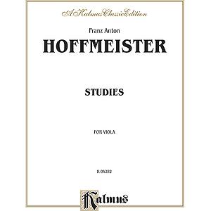 Hoffmeister Viola Studies V