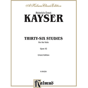 36 Studies Op. 43