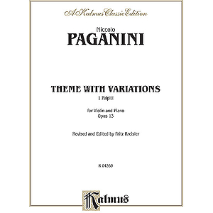 Theme With Variations Op. 13