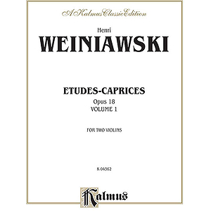 Etudes-Caprices Op. 18 Volume I