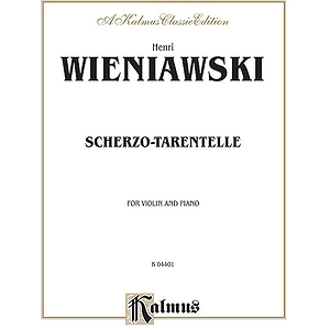 Wieniawsky Scherzo Tar/Vln
