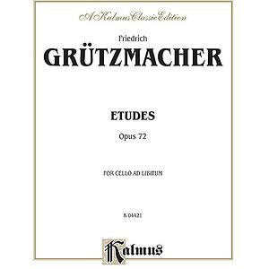 Gruetzmacher Etudes Op.72 Cl