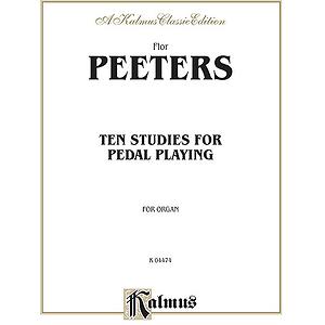 Peeters 10 Studies For Pedal