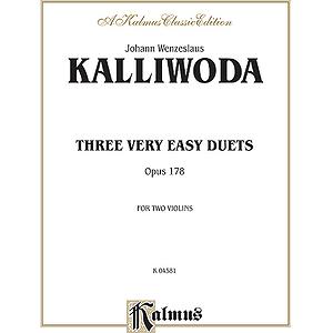 Kalliwoda 3 Easy Duets Op. 178