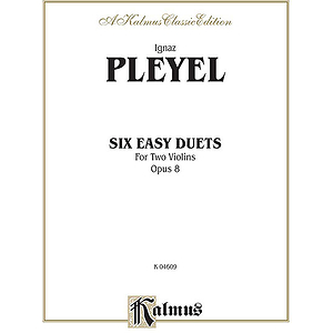 Six Easy Duets Op. 8