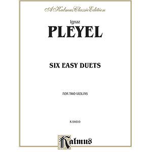 Pleyel 6 Easy Duets Op. 23