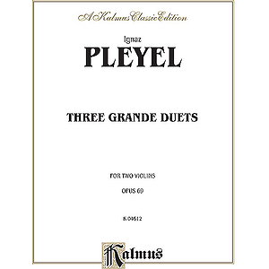 Pleyel 3 Grande Duets Op.69