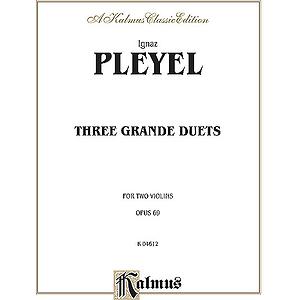 Pleyel 3 Grande Duets Op.69