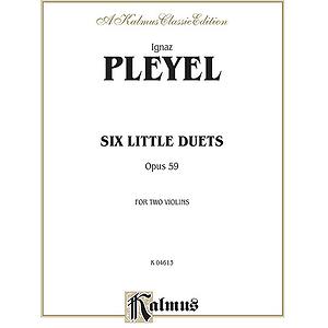 Pleyel 6 Little Duets Op.59 2 Vn