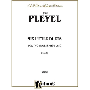 Pleyel 6 Little Duets Op.48