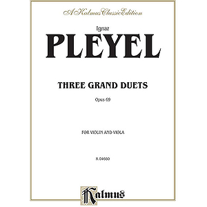 Pleyel 3 Grand Duets Op.69