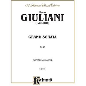 Grand Sonata Op. 25