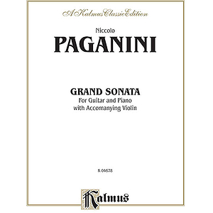 Grand Sonata For Guitar And Piano With Accompanying Violin