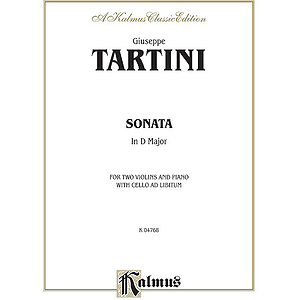 Cello Sonata In D Major By Giuseppe Tartini