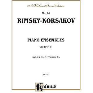 Rk  Piano Ensembles Volume 3 (1p4h)
