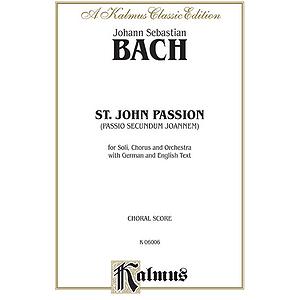 Bach Saint John's Passion V