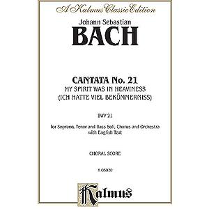 Bach Cantata No. 21 V