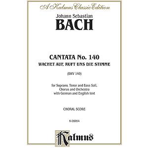 Bach Cantata No. 140 V