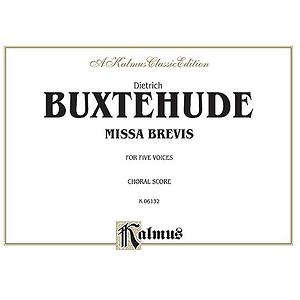 Buxtehude Missa Brevis V