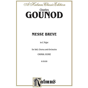 Gounod Messe Breve No. 7 V