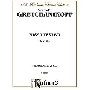 Gretchaninoff Missa Festivo V