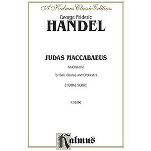 Handel Judas Maccabaeus Vs