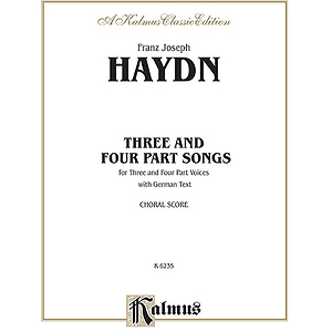 Haydn 3 & 4 Part Songs V