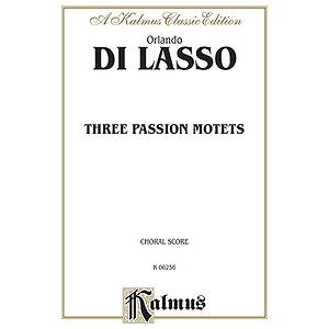 Lasso 3 Passion Motets V
