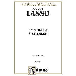 Lasso Prophetiae Sibyllarum V
