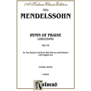 Mendelssohn Hymn Of Praise V
