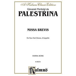Palestrina Missa Brevis V