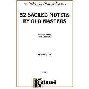 52 Sacred Motets V