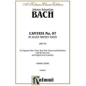 Bach Cantata No. 97 V