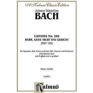 Bach Cantata No. 105 V