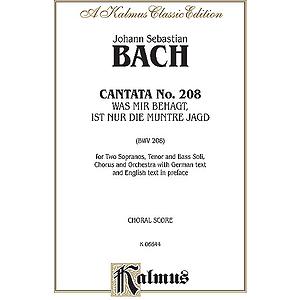 Bach Cantata No. 208 V