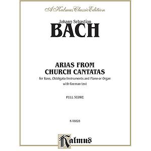 Bach Bass Arias