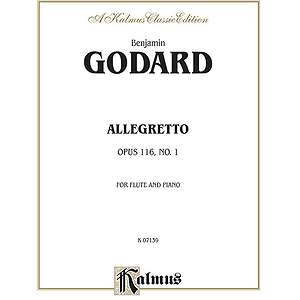 Allegretto For Flute And Piano Op. 116