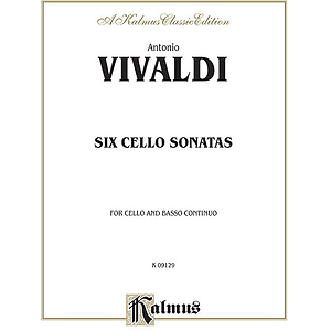 Six Sonatas For Cello And B.c.