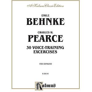 Behnke 30 Voice Tr. Ex. Soprano