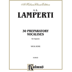 Lamperti 30 Prep. Vocal. Sop V