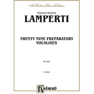 Lamperti 29 Prep. Vocal. Alto V