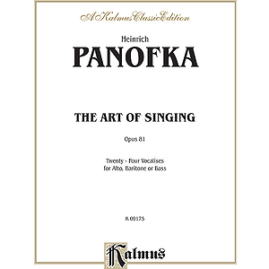 Panofka Art Of Singing Op 81 Al