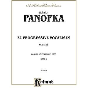 Panofka 24 Prog. Vocalises Op 85