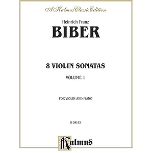 Eight Violin Sonatas