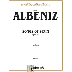 Albeniz Songs Of Spian